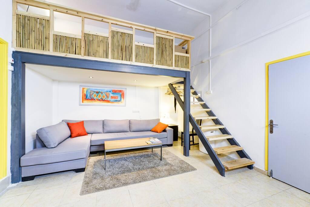 Sofa downstairs