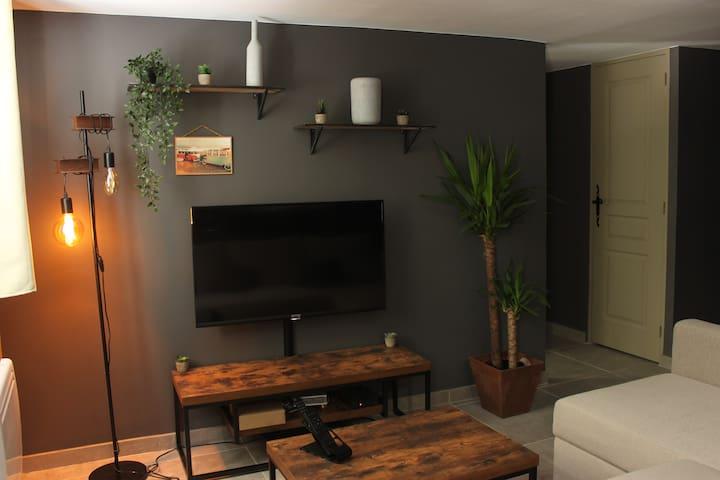 Appartement en résidence avec vue sur la Sorgue