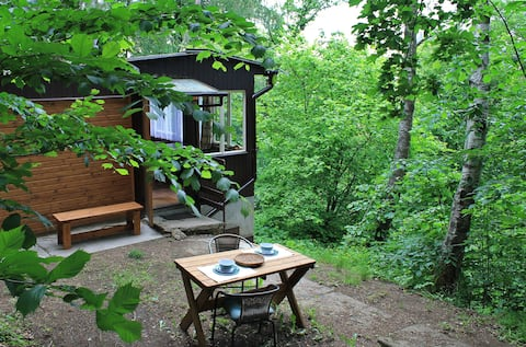 Romantic Eco-cabin near Prague