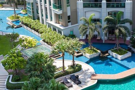 5-Star Resort-like Condo in BKK中文服务 - Appartamento