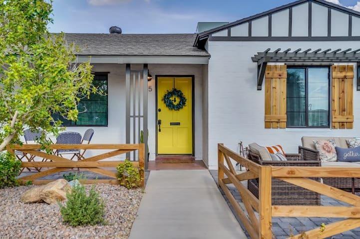 Urban-Retreat Central Phoenix Home + Outdoor Space