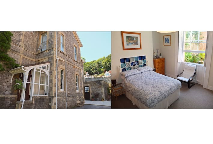 Large guest suite in Victorian house, WSM Hillside