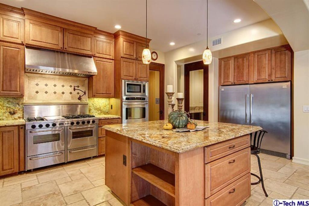 Kitchen with all needed amenities.