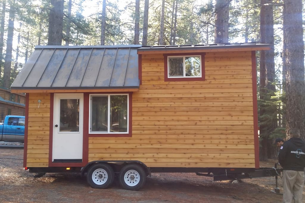 tiny house on wheels was on hgtv houses for rent in south lake tahoe. Black Bedroom Furniture Sets. Home Design Ideas