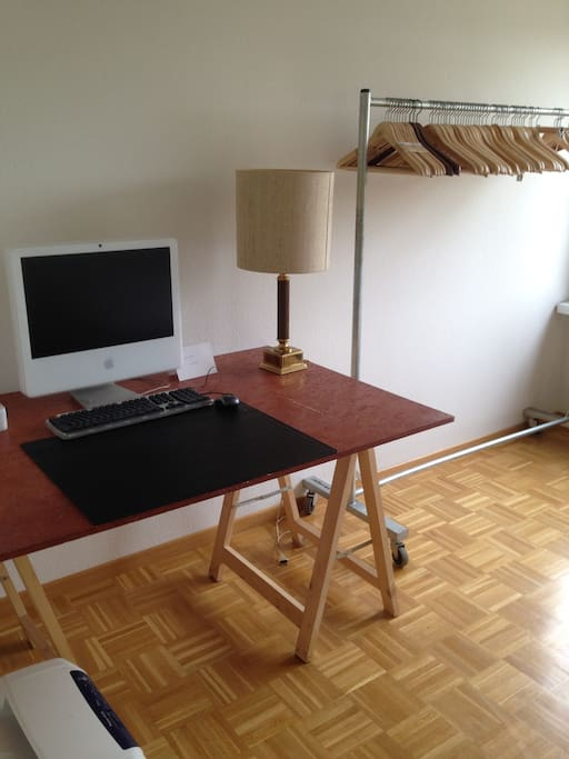 Your room with desk