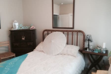 Comfy Bright Beach Themed Room - San Leandro - Talo