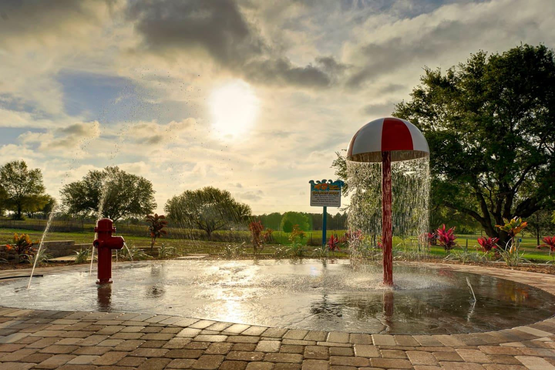 Splash park!