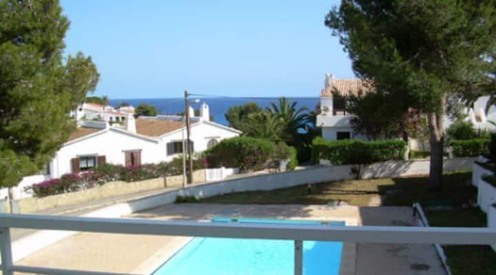 Nice apartment with swimmingpool next to the beach