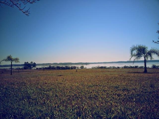 Casa de campo en Entre Ríos, con vista al lago - Concordia - Casa