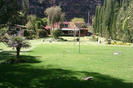 Cozy Villa+Big Beatiful Garden - Cuenca