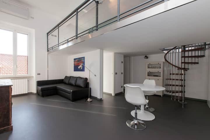 Design loft in Tortona Area, Milan