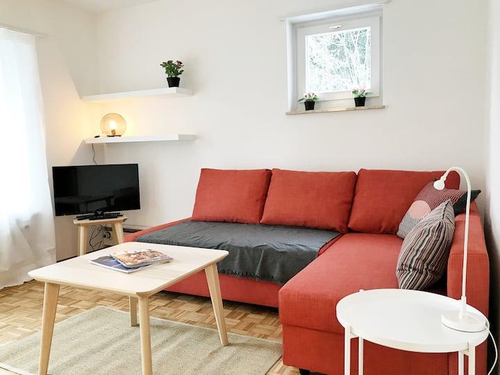 Schön möblierte Wohnung nähe HSG Uni und OLMA