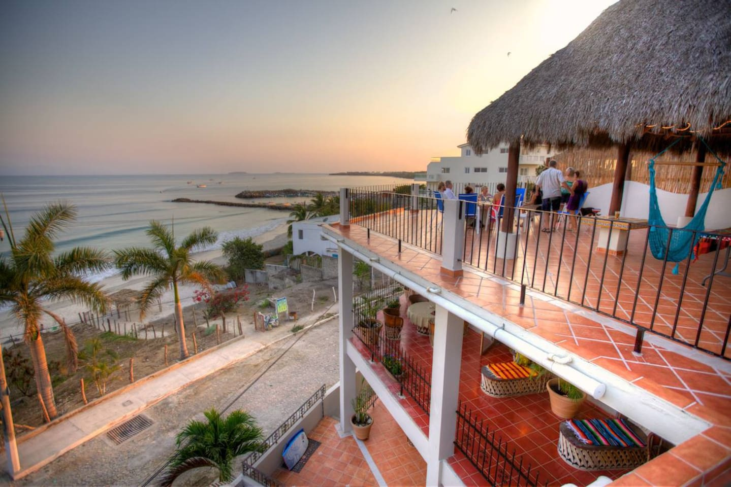 Enjoy the best views in Punta de Mita from your private terrace or from our exclusive roof top deck.