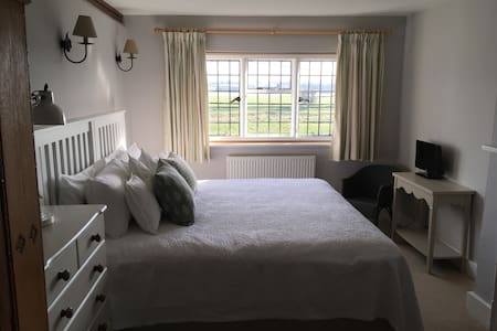 Private Room with Rother Valley views near Rye.