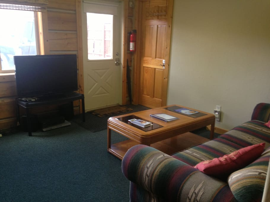 Front room with sleeper sofa