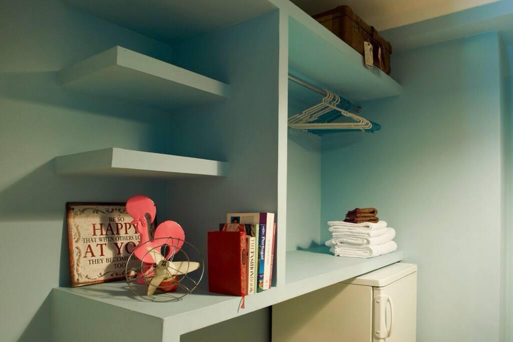 Room Storage Area