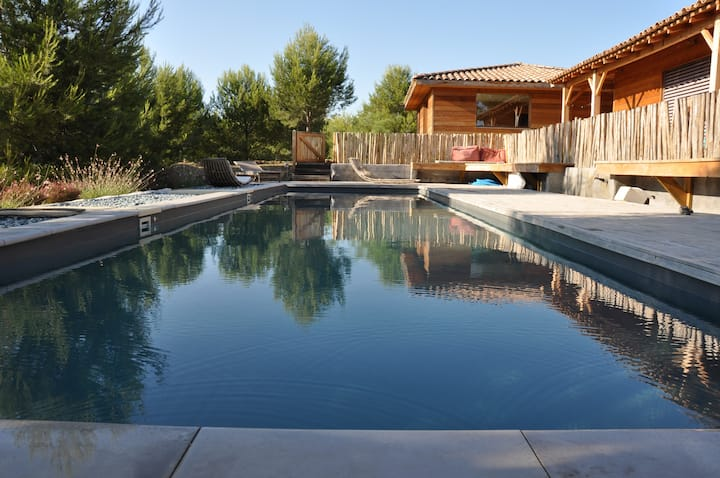 Wooden house Swimming pool Provence