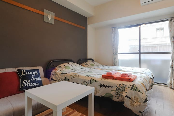 Comfortable Room★1mins to Sta★For Your Nice Trip!!