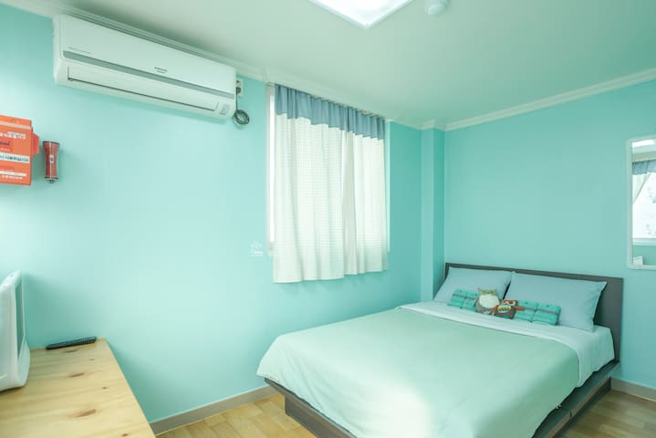 :DALKOM Guest House-Double room - จุง-กู