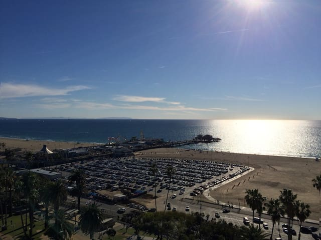 Sunny Studio Across from Ocean - Santa Monica - Apartmen