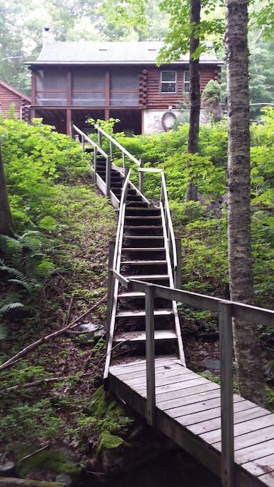 Steps to Brook