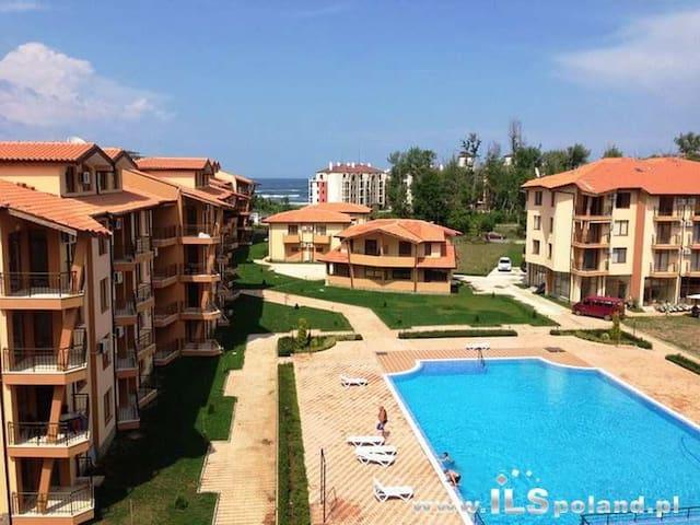 Двухуровневые апартаменты 65 кв.м. с видом на море