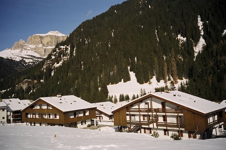 Apartment with spa for a full week in Val di Fassa