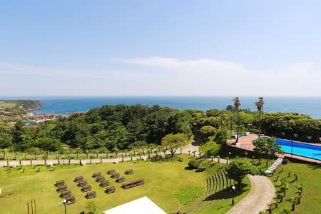 Double & Single beds nearby the Jungmun Beach - Jungmungwangwang-ro72beon-gil, Seogwipo-si