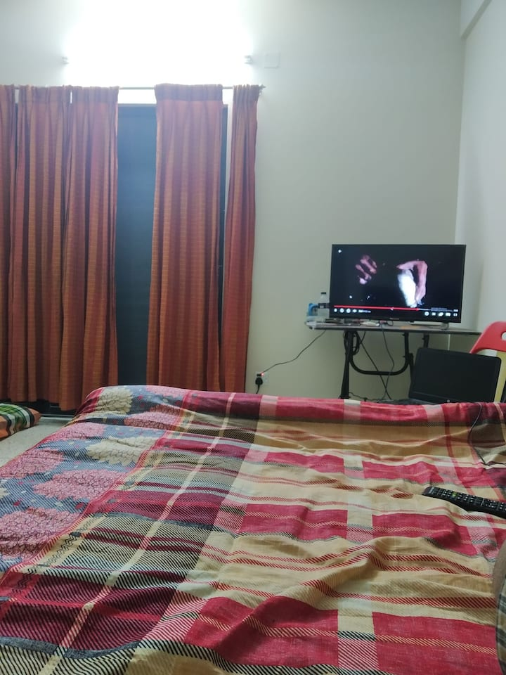 Super furnished single room with attached belcony