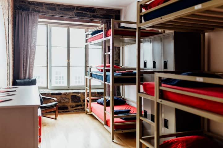 1 Bed in 6 Mixed Bed Dormitory