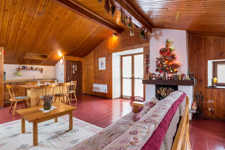Lovely mansard close to the slopes - La Thuile - Appartement