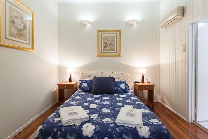 Bedroom 6.  Queen Bed.  Upstairs