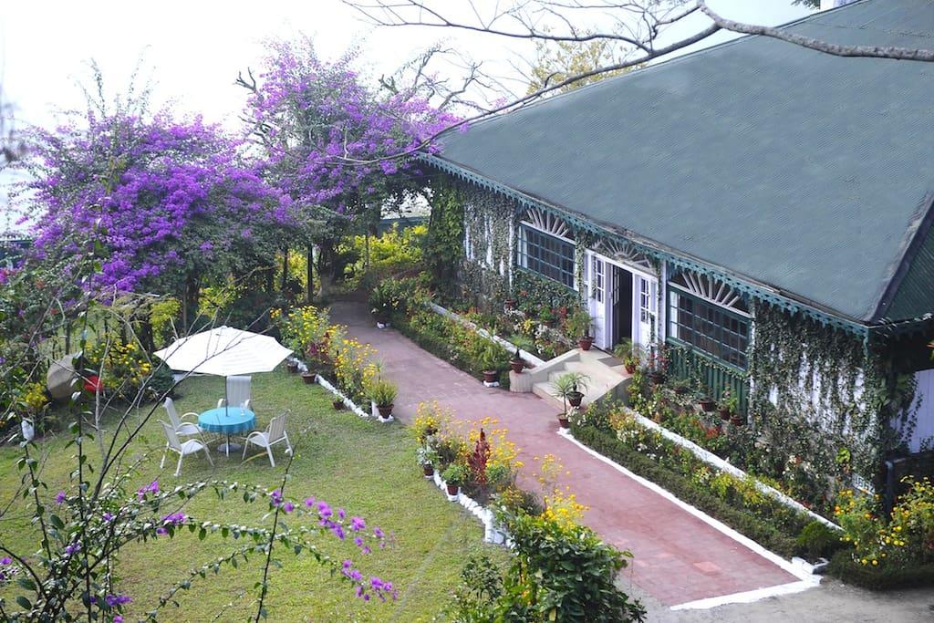 Top view - Singtom Resort
