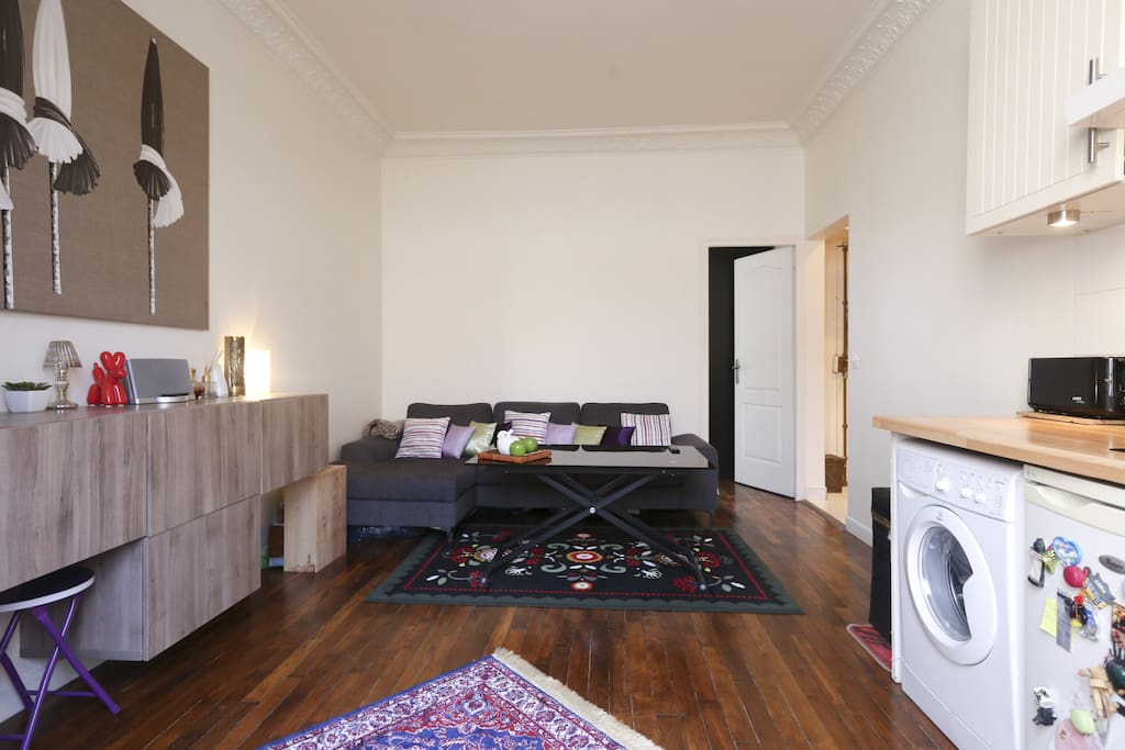 Charmant appart 20min paris op ra appartements louer for Location appart meuble paris