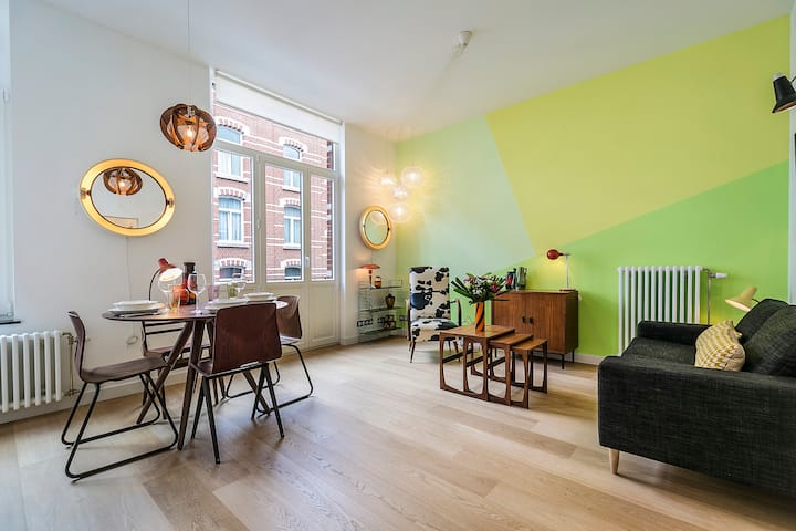 Charming Apartment I - Saint Gilles - Brussels