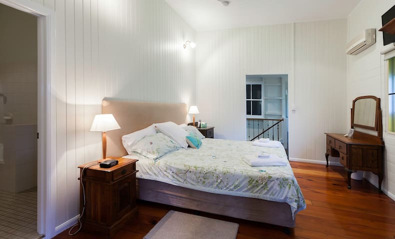 Bedroom 4:  King Bed  -.  Upstairs