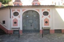 Antico ingresso terme di Bagni di Lucca
