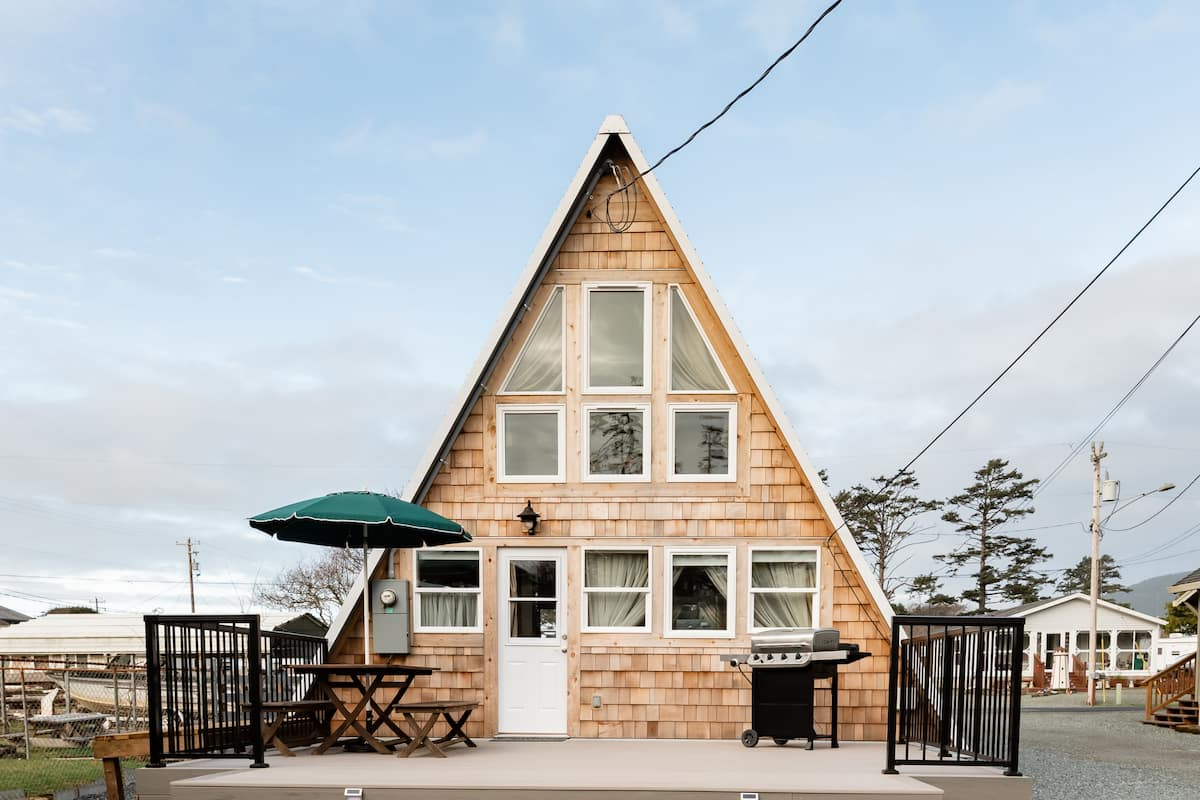 Renovated A-Frame Just Steps from the Beach