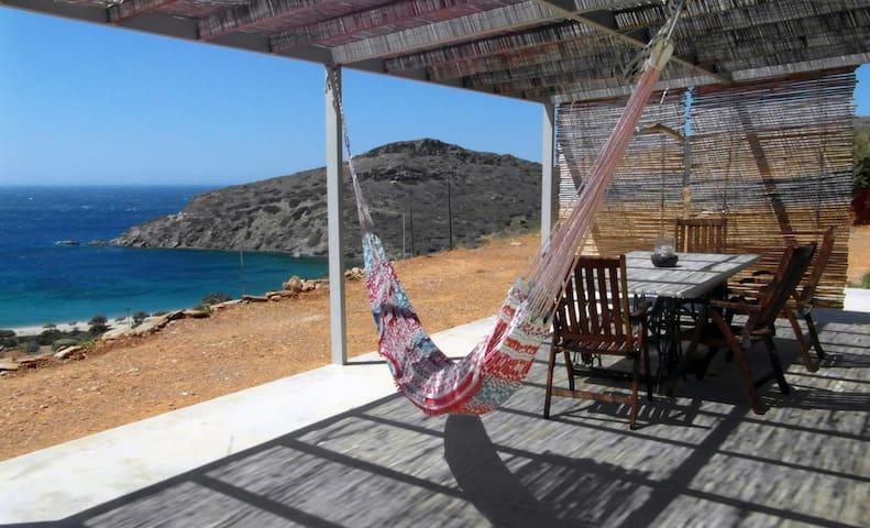 Thyme stone house at Fellos - Andros - Dom