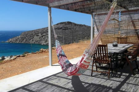 Thyme stone house at Fellos - Andros