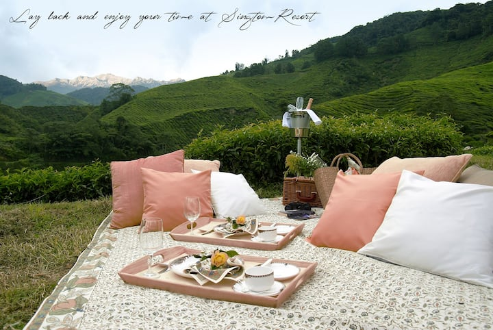 The World's First Tea Resort: Mountain View Suite