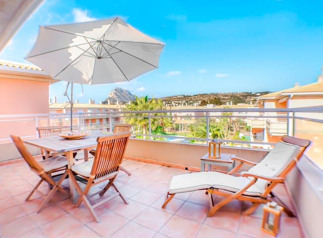 Magic Montgo apartment: pool, WiFi - Bahía de Jávea