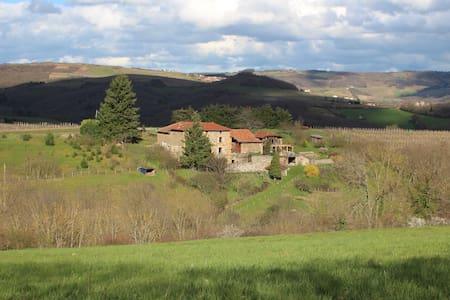 Maison sur la colline. - Ternand