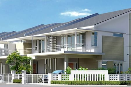 Brand new double storey terrace! - Bayan Lepas