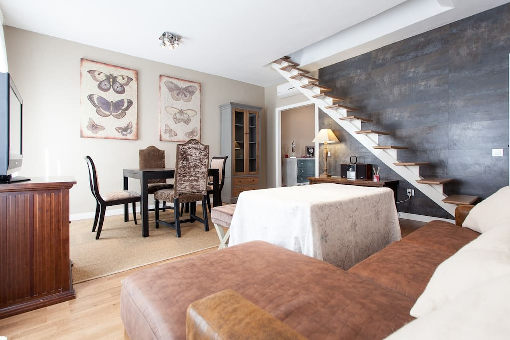 Apartments ol triana 2 dorm terraza privada for Alquiler de casas en triana sevilla