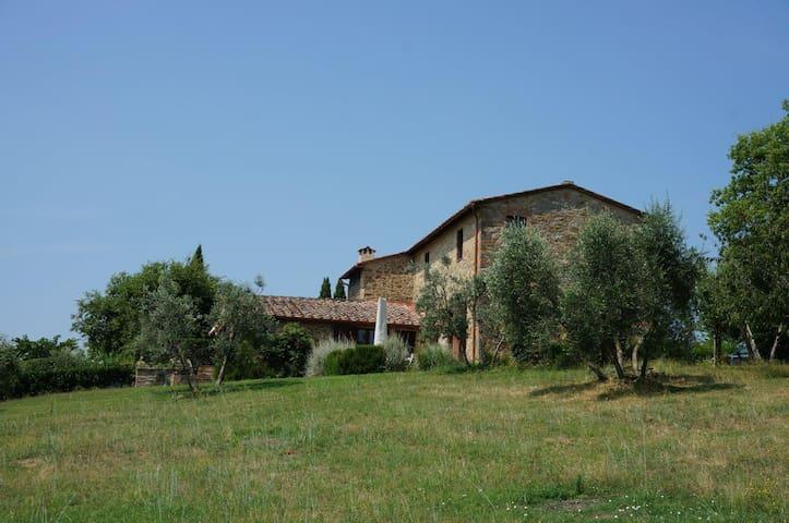 Villa Arceno Casina, sleeps 8, pool - Chianti - San Gusmé - Maison