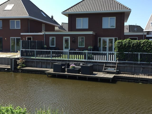 New apartment with garden and close to Amsterdam - Assendelft - Condominium
