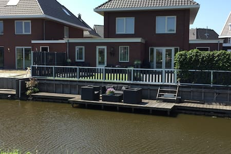 New apartment with garden and close to Amsterdam - Assendelft - Selveierleilighet
