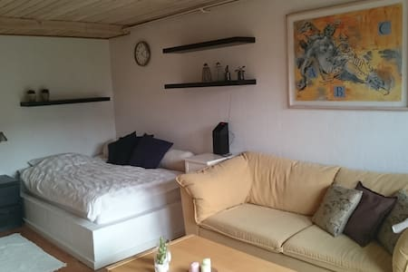 Big room - own terrass - Lystrup - Hus
