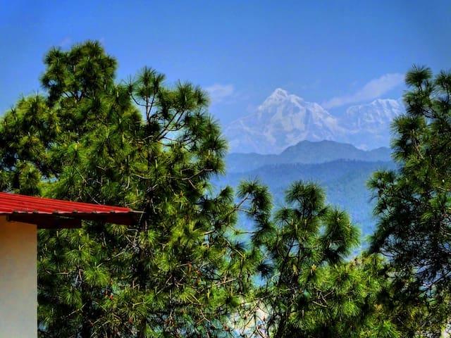 Sharanam-a paradise Himalayan getaway, Ranikhet - Someshwar Range - Prázdninový dům